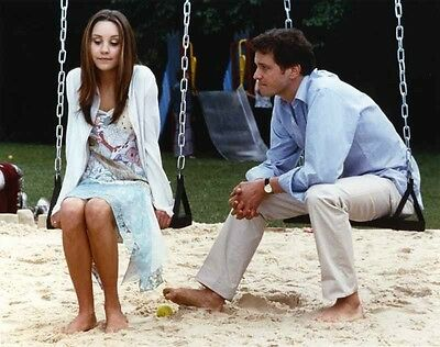 Amanda Bynes sitting on Swing Candid Photo High Quality Photo