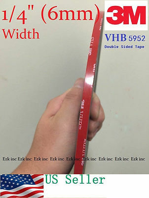 3M 14 x 21 ft  VHB Double Sided Foam Adhesive Tape 5952 Automotive Mounting