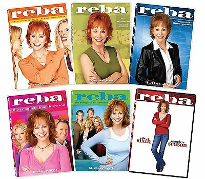 Reba The Complete Series Seasons 1 2 3 4  5 - 6 15 DVD set