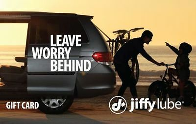 Buy a 60 Jiffy Lube Gift Card and Save 12 20 off- Via Email delivery