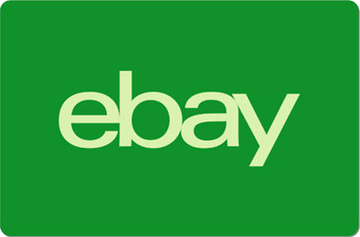 eBay Digital Gift Card - Green One Card So Many Options  - Emailed