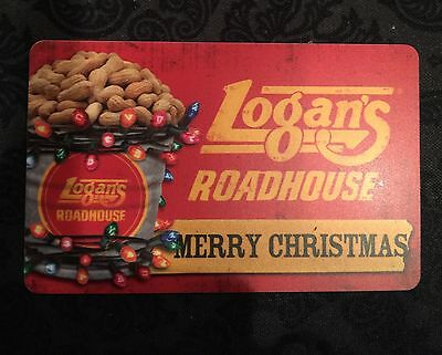Logans Roadhouse Gift Card 42-00 Value - Free Shipping
