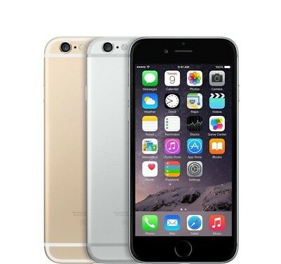 Apple iPhone 6 - 16GB 64GB 128GB GSM Unlocked Smartphone Gold Gray Silver