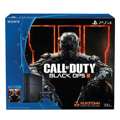 Sony PlayStation 4 PS4 Console - Call of Duty Black Ops 3 500GB Bundle