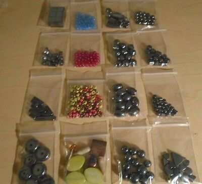 HUGE Lot of Jewelry Making Beads-Semi Precious Glass Crystal Clay A3
