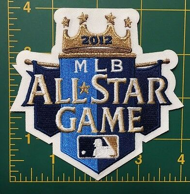 All Star Game Kansas City Royals 2012 MLB Jersey Sleeve Patch Baseball Team 4