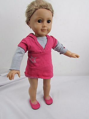 AMERICAN GIRL DOLL BROWN EYES BLOND HAIR AND FRECKLES