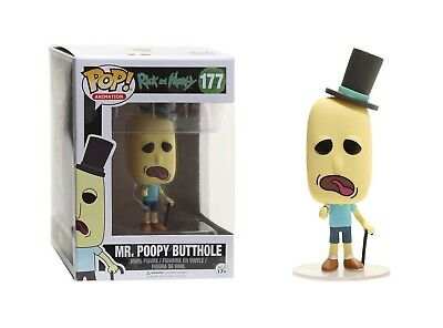 Funko Pop Animation Rick and Morty - Mr- Poopy Butthole Vinyl Figure No- 12442