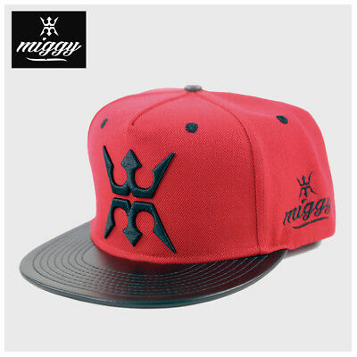 Miggy Wear Urban Red Snapback Adjustable Hat Cap by Miguel Cabrera