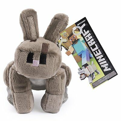 Minecraft Rabbit Plush Toy - NEW - FREE FAST USA SHIPPING