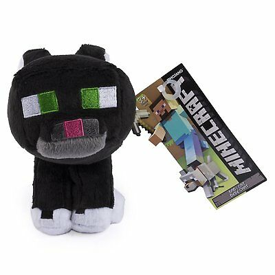 Minecraft Tuxedo Cat Plush Toy - NEW - FREE FAST USA SHIPPING