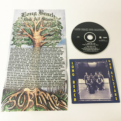 Long Beach Dub Allstars 1999 single promo CD w insert poster Sealed NEW Sublime