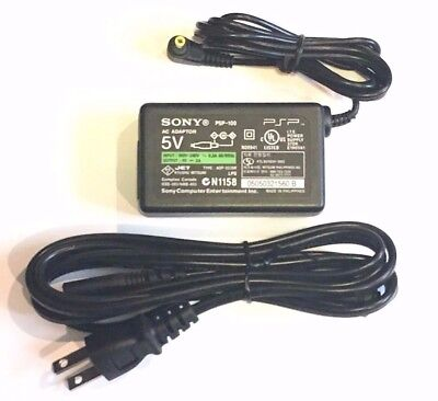 New Official OEM AC Adapter for Sony PSP 1000 2000 - 3000 - Wall Charger