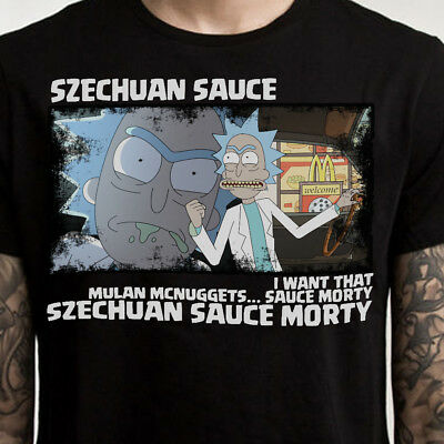 Rick and Morty Shirt Szechuan Sauce Graphic T-Shirt