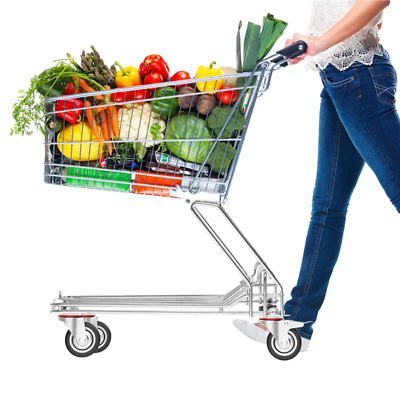 4 Heavy Duty Caster Set 3 Swivel Wheels 2 w Brake Non Skid No Mark Castors