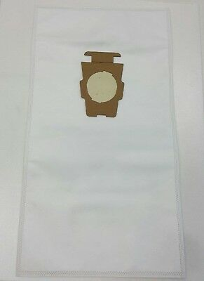 FORKIRBY VACUUM CLEANER WHITE CLOTH HEPA BAGS F STYLE G4 G5 G6 G7 G7D SENTRIA II