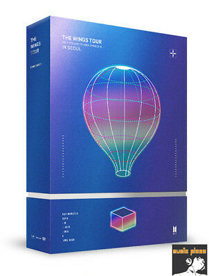 BTS 2017 LIVE TRILOGY EPISODE III THE WINGS TOUR IN SEOUL CONCERT DVD POSTER