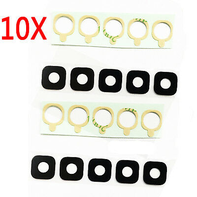 10x Rear Back Camera Glass Lens Cover Adhesive For Samsung Galaxy S7 G930 G935