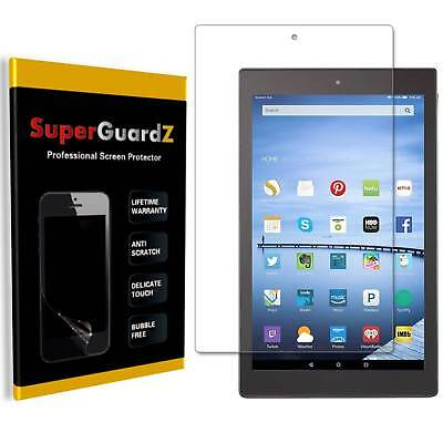 3X SuperGuard® Clear Screen Protector Film For Amazon Fire HD 10 7th Gen 2017