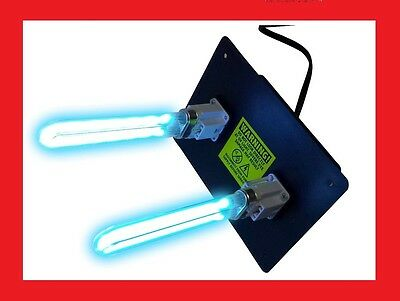 UV LIGHT for ac HVAC ultravaiolet dual lamp duct air cleaner DEAL