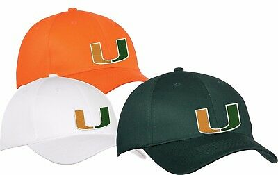 Miami Hurricanes - HATS- CLOSEOUT 75 OFF
