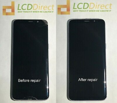 Samsung Galaxy S8 S8plus Cracked Screen Glass Repair Replacement Mail in Service