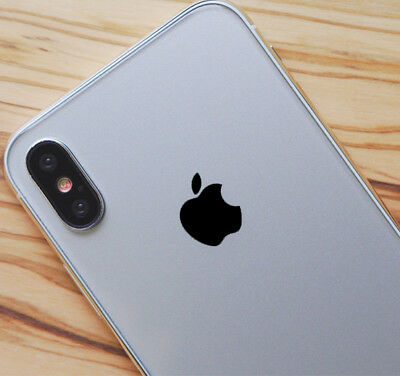 Black Color Changer Overlay for Apple iPhone X XS XR and XS Max Logo Decal