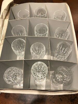 Waterford Kildare Champagne Flutes 12 in Excellent Condition- Buy 1 or all 12