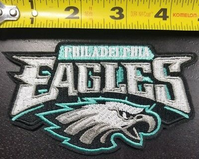 Philadelphia Eagles NFL SUPER BOWL CHAMPS 4-5 IronSew On PatchFREE SHIPPING