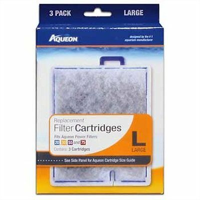 New Aqueon Replacement Cartridge Large Lg 3 Pack QuitFlow filter 2030505575