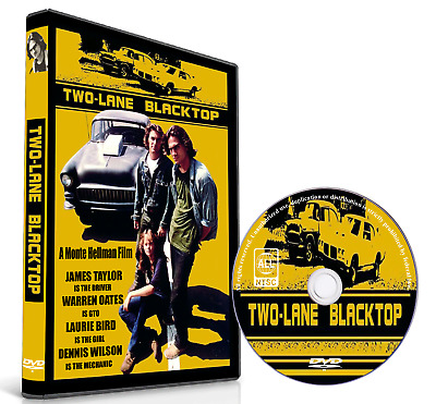 TWO-LANE BLACKTOP -1971- James Taylor Warren Oates Laurie Bird Dennis Wilson