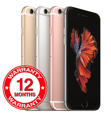 Apple iPhone 6s Plus 16GB 32GB 64GB 128GB Unlocked SIM Free Smartphone Grades