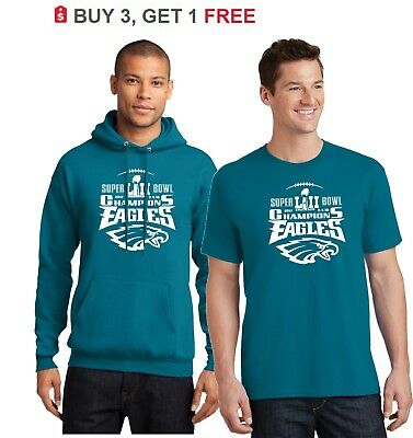 Philadelphia Eagles SUPER BOWL WORLD CHAMPIONS Tee Shirts  Sweat Shirts