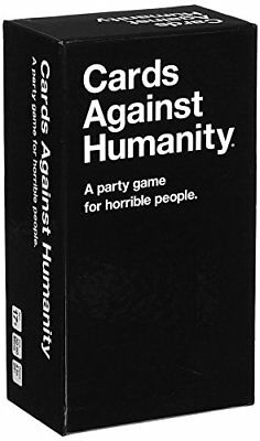 Cards Against Humanity 550 white Card Full Base Pack Party Game US 100 Real NEW