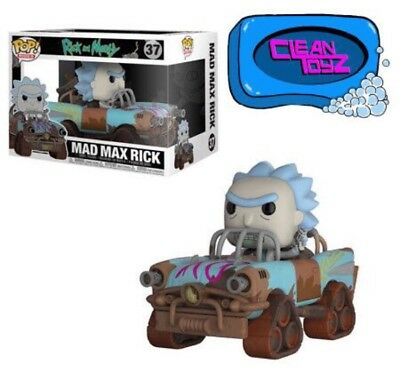 Funko Pop Ride Rick And Morty - Mad Max Rick IN STOCK