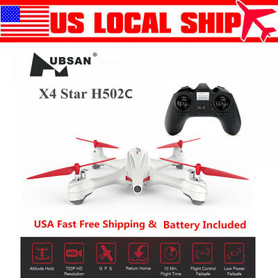 Hubsan X4 H502C RC Quadcopter Drone 2-4G 4CH 720P Altitude Hold Auto-Return GPS