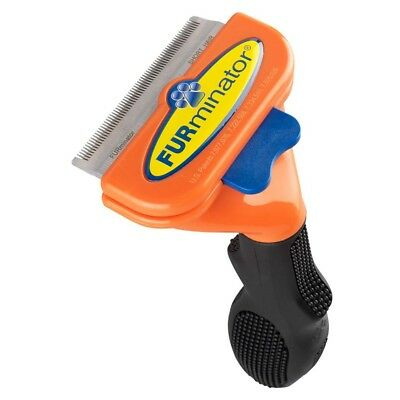 FURminator DeShedding Tool for Medium Dogs with Short Hair - M 21-50 lbs