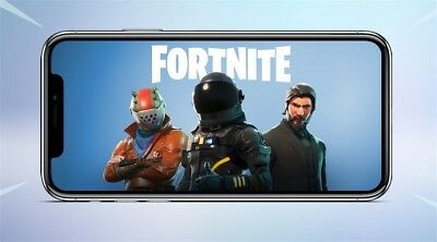 Fortnite Battle Royale Mobile IOS - Instant Delivery - Play Now