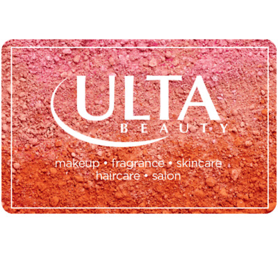 Get a 100 Ulta Beauty Gift Card for only 90 - Via Fast Email delivery