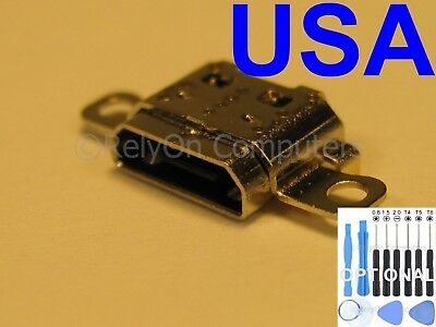 1x USB Charging Port Micro Sync For Amazon Kindle Fire 7 SR043KL 2017 7th Tablet