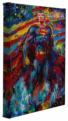 Superman Last Son of Krypton 11 x 14 Gallery Wrapped Canvas by Artist Blend Cota