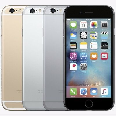 Apple iPhone 6 16GB 64GB Factory Unlocked AT-T T-Mobile Verizon Smartphone Space