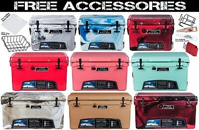 COLD BASTARD RUGGED SERIES ICE CHEST COOLER 8 colors 3 sizes BEST PRICE Free S-H