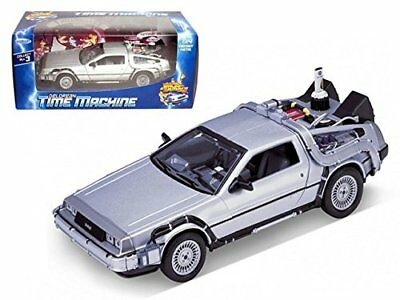 Welly Back to the Future Part 2 DMC DeLorean Time Machine 124 Die Cast Metal