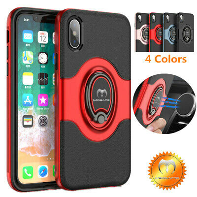 For iPhone 11 ProXR X 7 8 Plus Mosafe® Hybrid SE2 2020 Ring Holder Case Cover