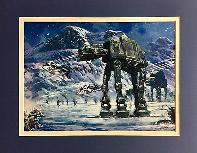 Star Wars Officially Licensed Art by Rodel Gonzalez - Rob Kaz Choice of 4