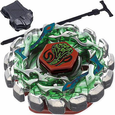 Beyblade Poison Serpent Metal Fusion STARTER SET w Launcher - Ripcord