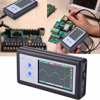 Hand-held D602 ARM Mini Portable Digital Oscilloscope 200KHz Touch PanelAB