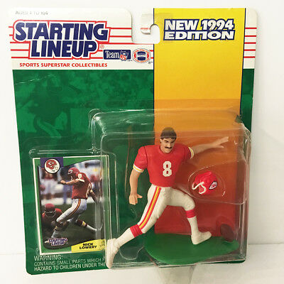 1994 Nick Lowery KC Chiefs Starting Lineup Figure NFL Kenner NIP unopened