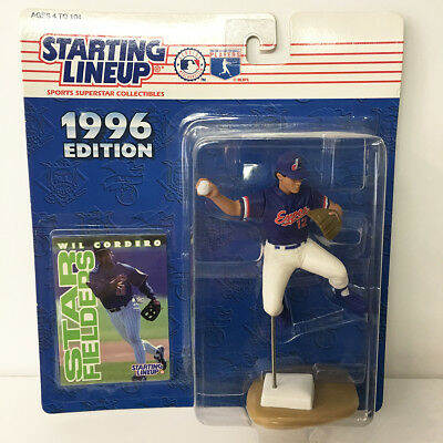 1996 Wil Cordero Expos Starting Lineup Figure MLB Kenner NIP unopened NEW